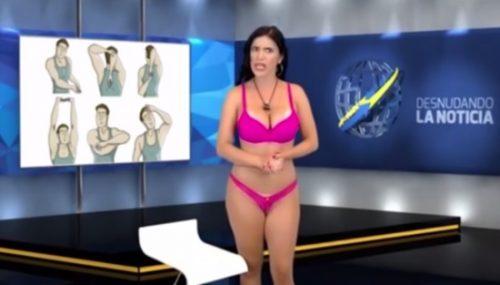 голые на телевидении фото