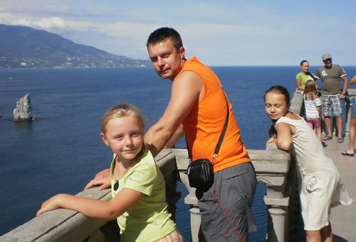 Захватчик Бураков в Крыму